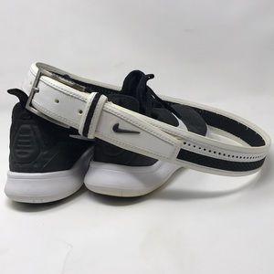 White Nike Golfers Belt